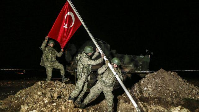 Türk ordusu Suriyada