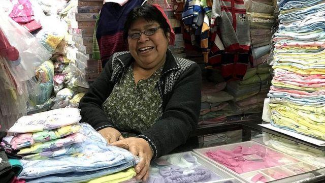 Vendedora Caplina Tacna