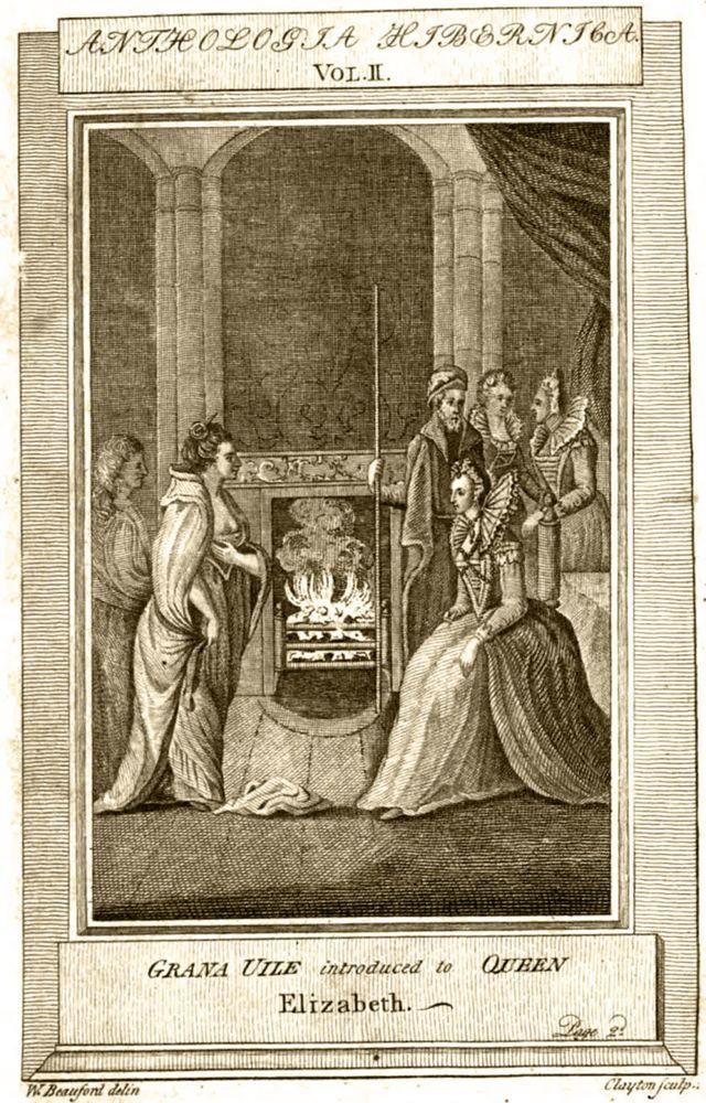 El legendario encuentro, imaginado años después, entre las dos reinas.