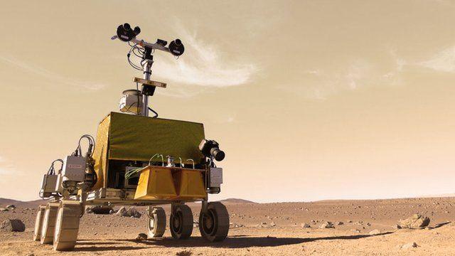 ExoMars rover prototype