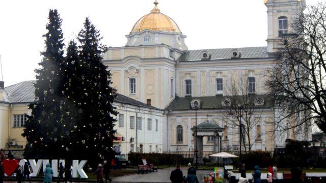 Свято-Троїцький кафедральний собор є головним у Волинській єпархії ПЦУ