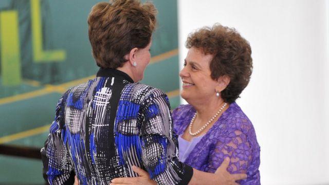 Dilma Rousseff e Eleonora Menicucci