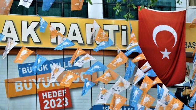 AKP'nin bir ilçe teşkilatı.