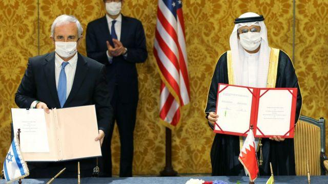 Bahrain and Israel declare diplomatic relations