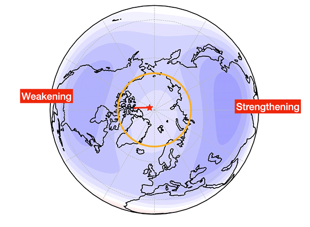 Scientists explain magnetic pole's wanderings