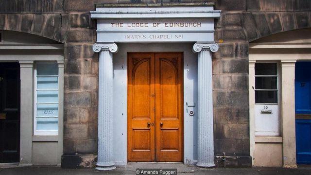 Edinburgh mason locası