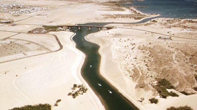 Foto del lugar donde está el puente.