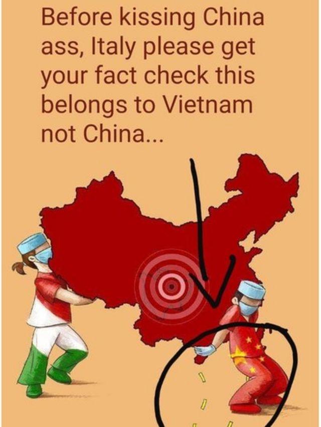 Một số người Việt Nam đã tấn công Facebook nữ họa sĩ 18 tuổi này và gọi cô là 'bợ đít' Trung Quốc