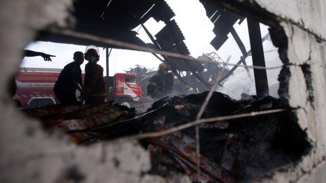 Kebakaran Kosambi
