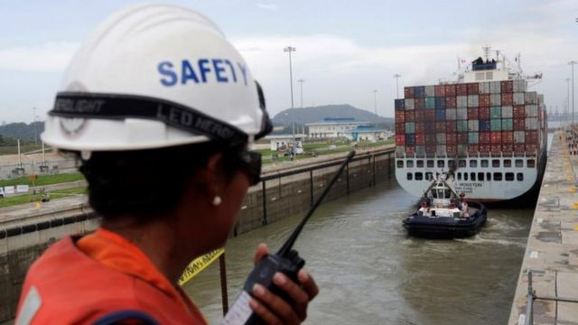 La ampliación del Canal de Panamá se demoró casi 9 años.