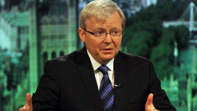 كيفن رود رئيس وزراء أستراليا السابق