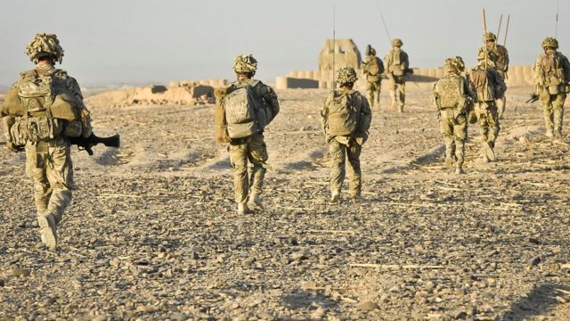 Lính Anh ở tỉnh Helmand, Afghanistan