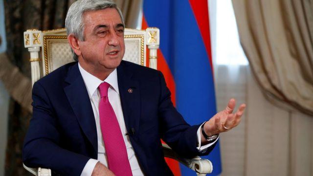 Президент Армении Саргсян