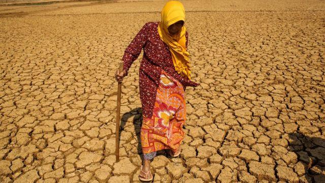 Засуха в Индонезии