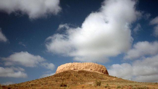Крепость Чилпик в Узбекистане