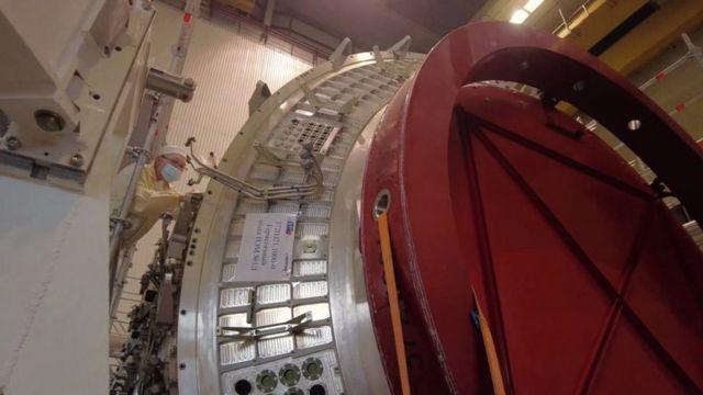 محطة فضاء روسية قيد الإنشاء