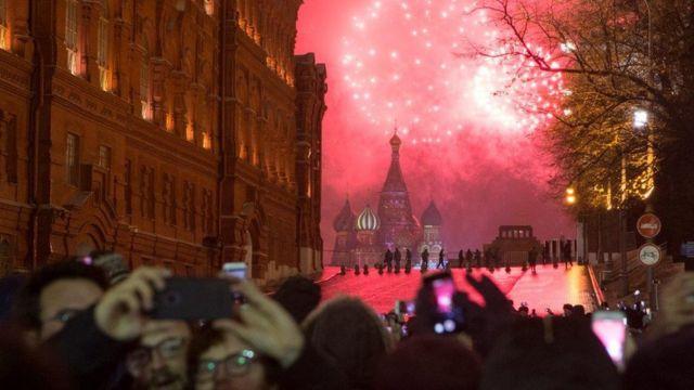 Hướng về Quảng trường Đỏ ngày Năm Mới: ông Gorbachev nói ông đã đem lại tự do cho người dân Nga