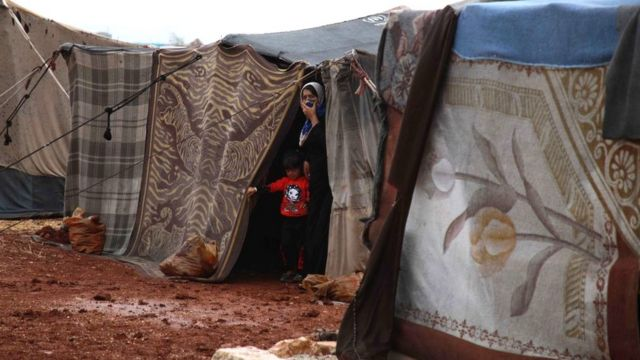 Лагерь в Сирии