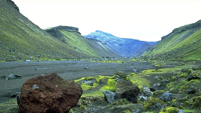 El volcán Eldgjá (Foto: Andreas Tille/ Wikimedia Commons)