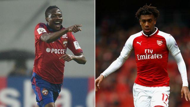 CSKA Moscow na Arsenal