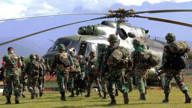 Aparat keamanan di Papua