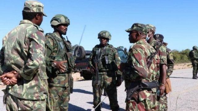 Abasirikare b'u Rwanda bari kumwe n'aba Mozambique