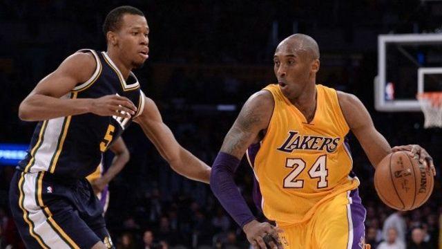 Bryant con los Lakers