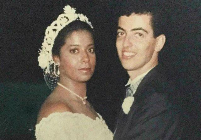 Mônica em seu casamento
