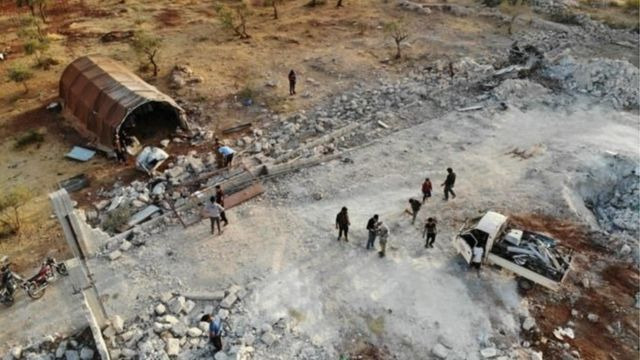 सीरिया के इदलिब में अमरीकी स्पेशल फ़ोर्स के ऑपरेशन में बग़दादी की मौत हुई थी
