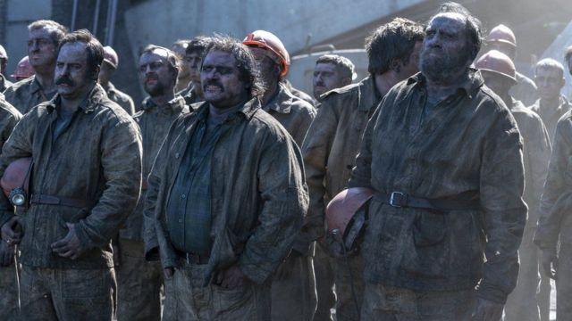 切尔诺贝利的矿工