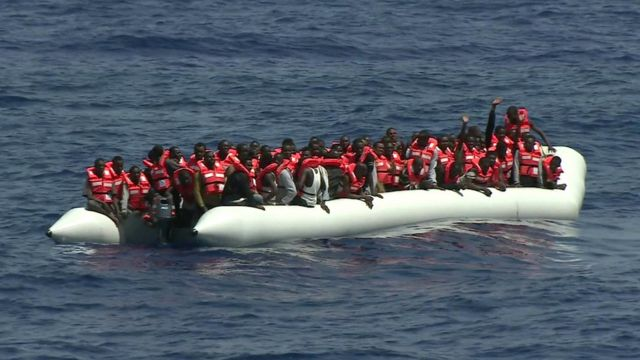 Migrant vessel