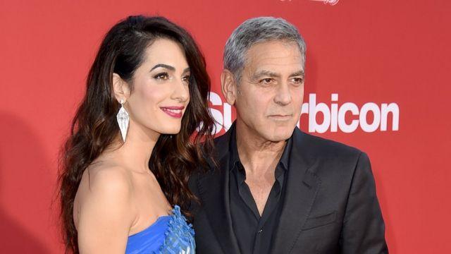 George và Amal Clooney