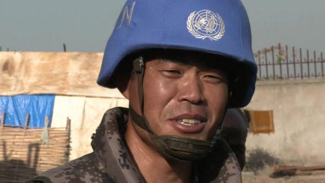 Chinese peacekeeper