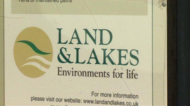 Land and Lakes logo
