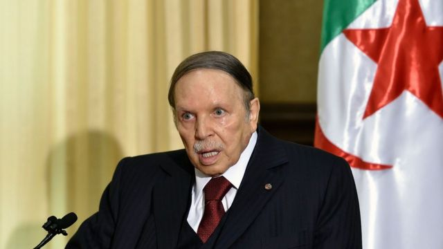 الرئيس الجزائري باق في السلطة منذ مايقارب العشرين عاما