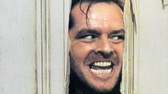 Jack Nicholson en la película