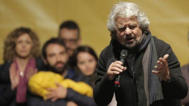 آیا ممکن است جنبش پنج ستاره و رهبرش، بپه گریلو، انتخابات سراسری ایتالیا را ببرند؟