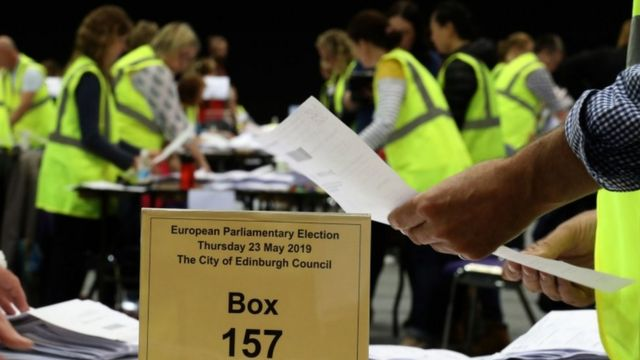 European Elections 2019: SNP ahead in Scotland as Labour vote collapses