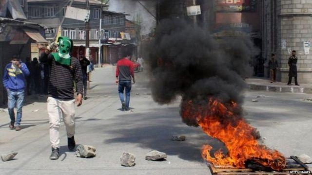 कश्मीर, हिंसा, मुठभेड़, चरमपंथी