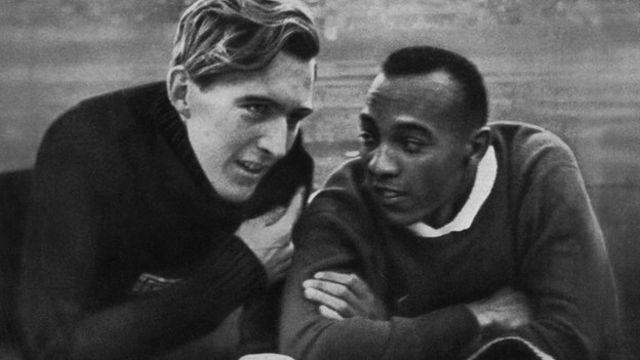Jesse Owens y Luz Long