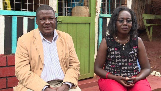 Many couples in Kenya live with HIV