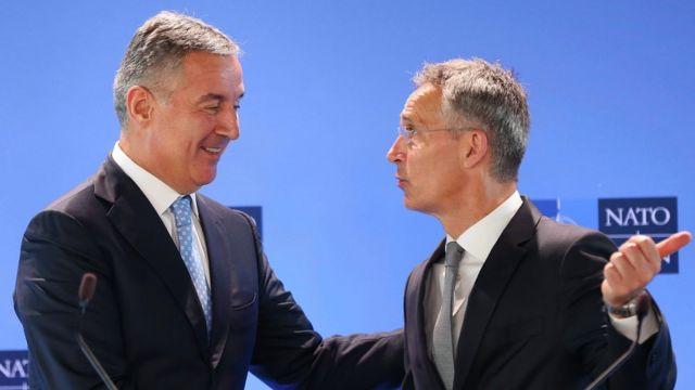 Đukanović i Stoltenberg, Brisel, 4. jun 2018.