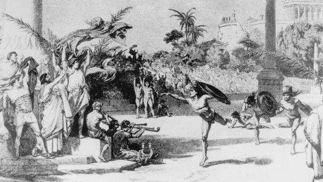 Jogos na Grécia antiga c. 776 dC