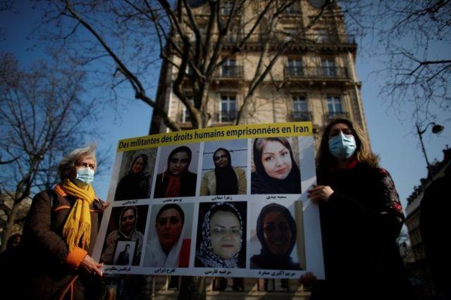 تصویر فعالان حقوق زنان ایرانی که به دلیل مخالفت با تبعیض به زندان افتادند