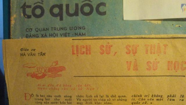Một bài viết của Giáo sư Hà Văn Tấn