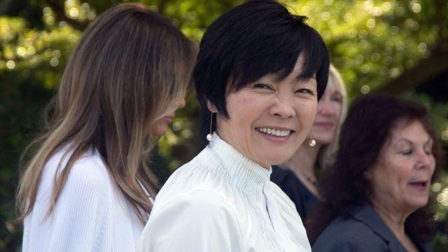 जापान की प्रथम महिला अकी अबे