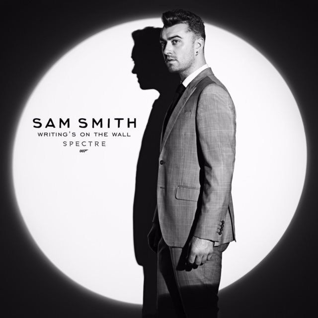 The cover art for Sam Smith's Bond song