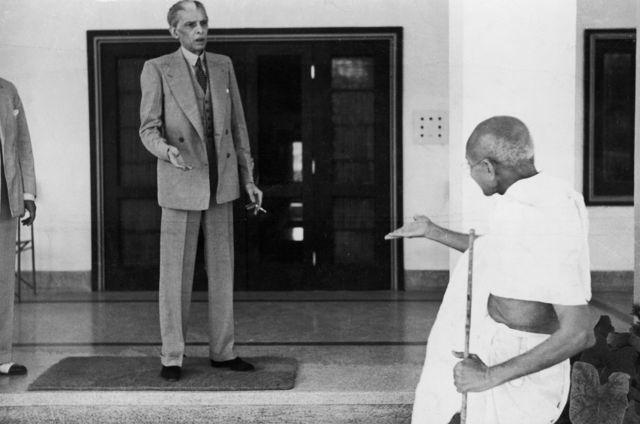 मोहम्मद अली जिन्ना, महात्मा गांधी