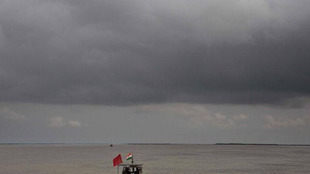 ब्रहमपुत्र नदी का फाइल फोटो