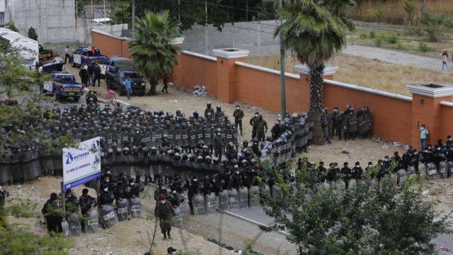 ejército y policia de Guatemala